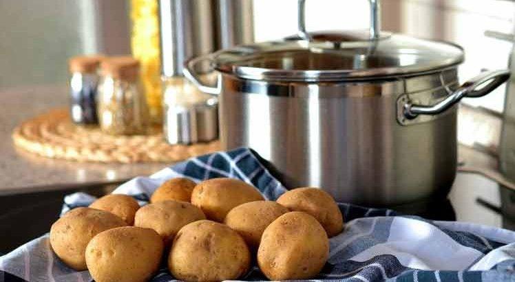 Aardappelen invriezen