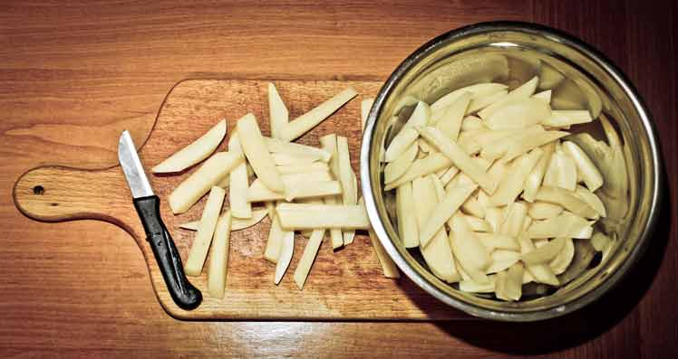 Zelf patat maken